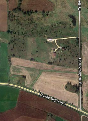 Google Maps aerial photo of Observatory Hill Farm